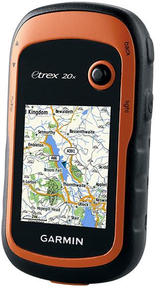 Garmin eTrex 20x - Mapas