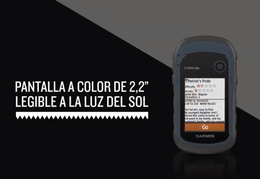Garmin eTrex 22x - Pantalla