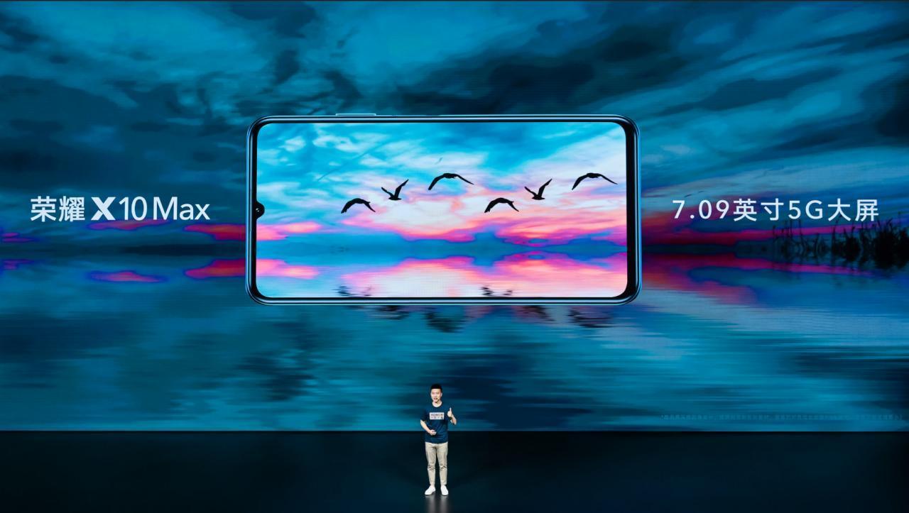 Honor X10 Max, un titán de gama media con pantalla de 7 pulgadas y 5G