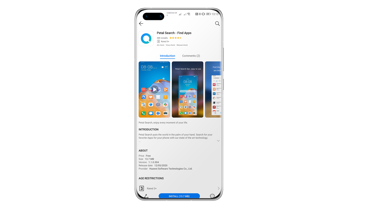 Huawei Find Apps
