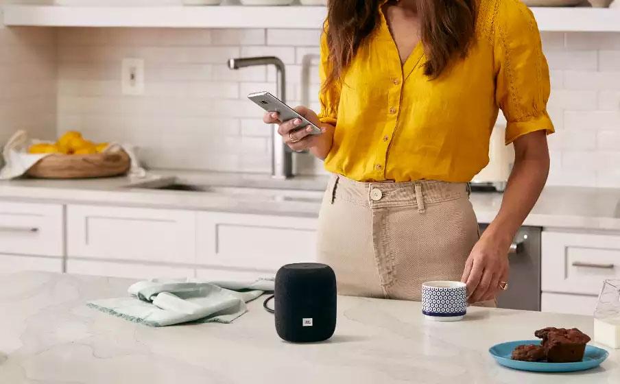 JBL Link Music - Conectividad WiFi y Bluetooth