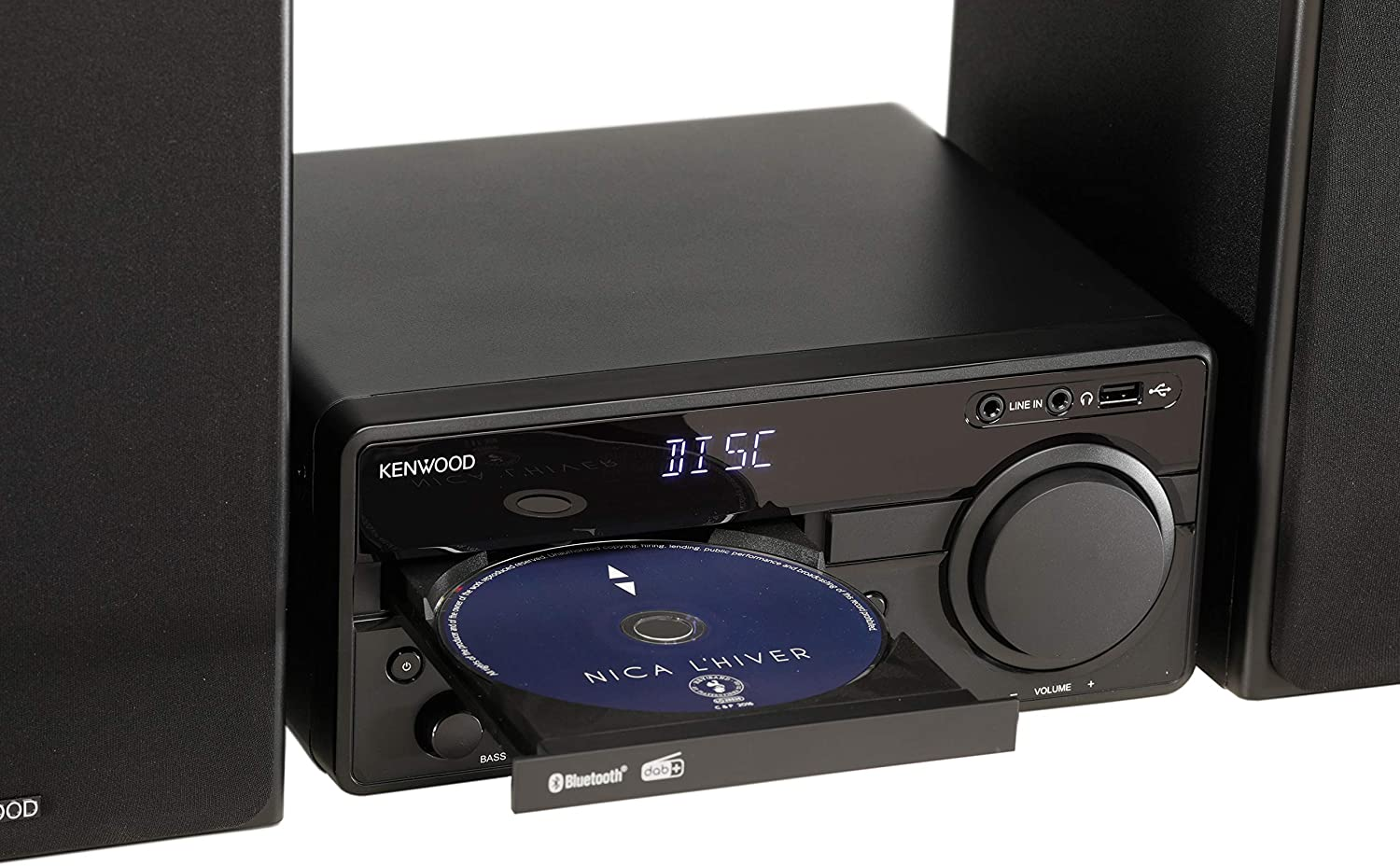 Kenwood M-819DAB - Reproductor de CD