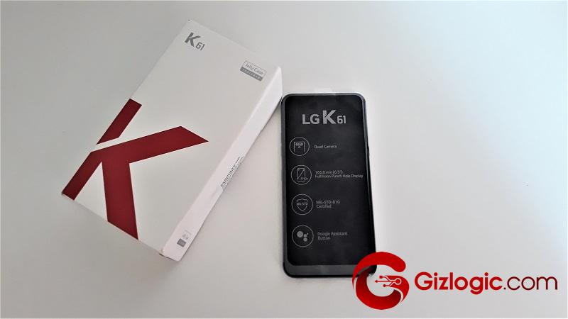 LG K61