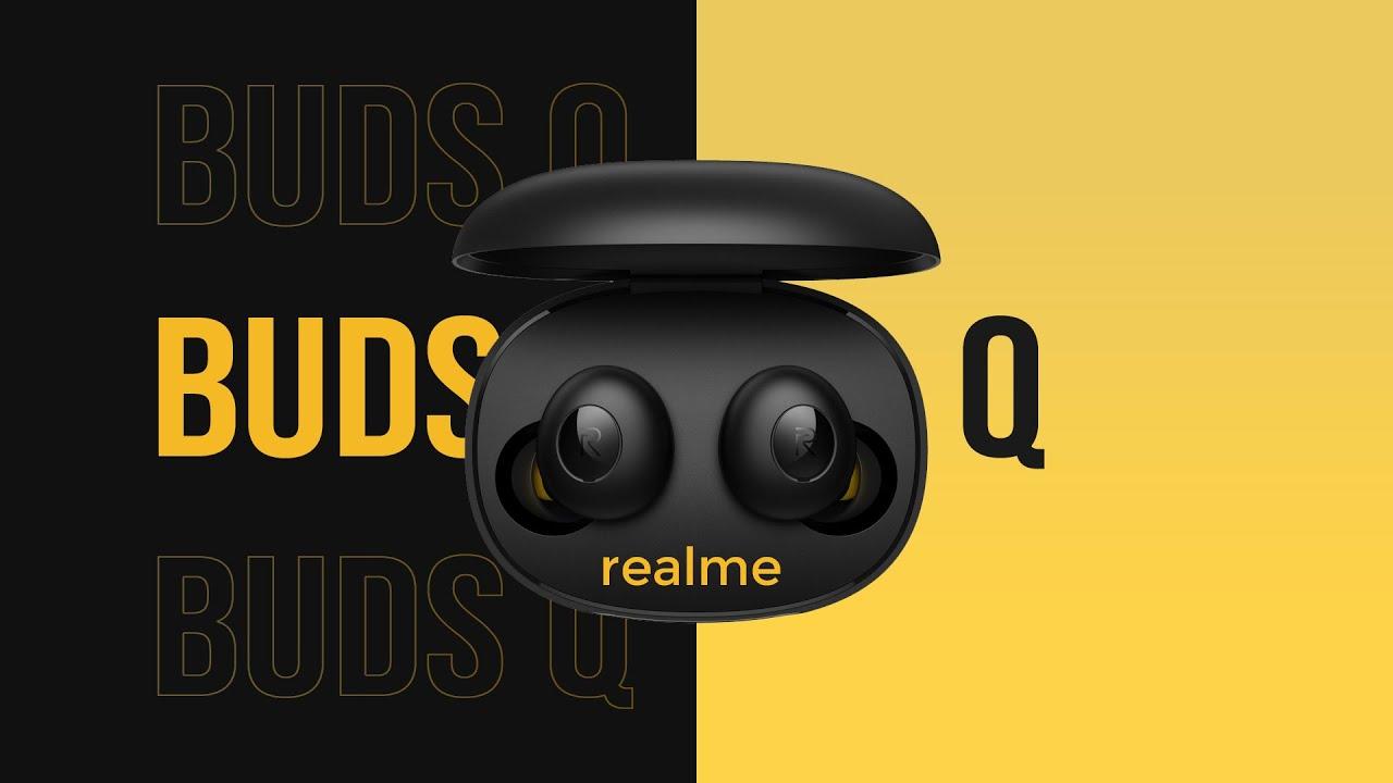 Los Realme Buds Q llegan a España presumiendo un diseño exclusivo