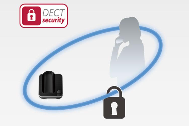 Panasonic KXTGD310 - DECT Security