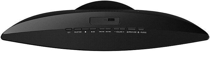 Panasonic SC-HC200, controles