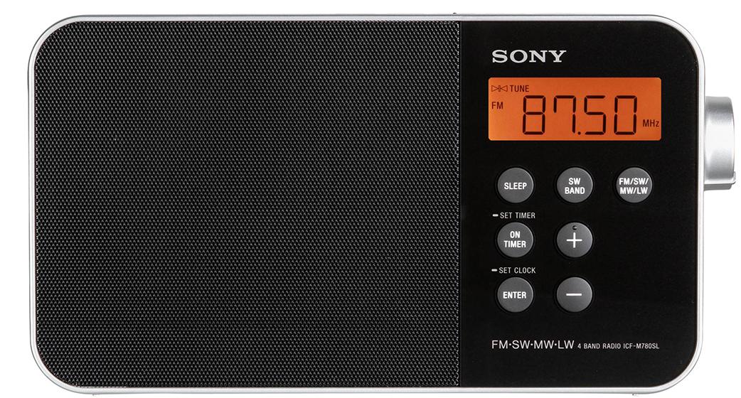 Sony ICF-M780SL - Funciones