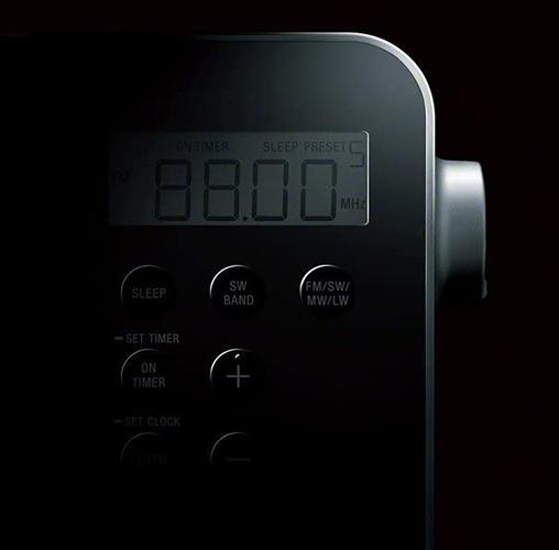 Sony ICF-M780SL - Pantalla LCD