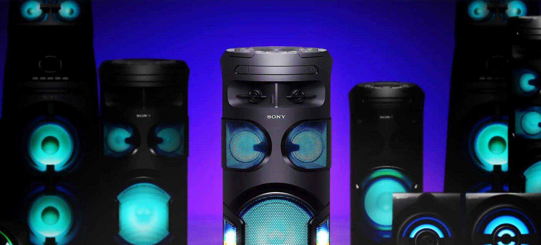 Sony MHC-V72D - Conectividad con 50 dispositivos