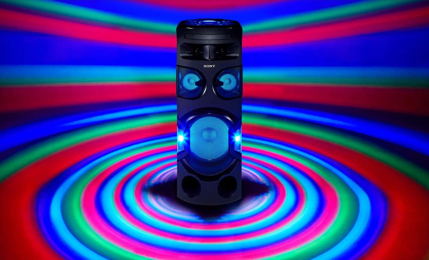 Sony MHC-V72D - Luces RGB