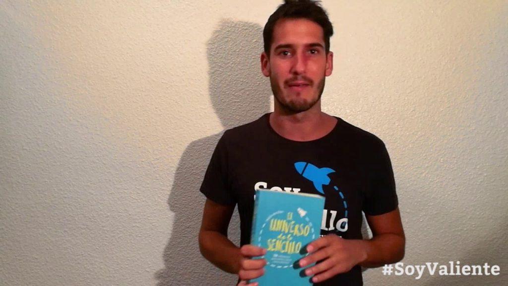 Pablo Arribas presenta su libro El universo de lo sencillo en su canal.
