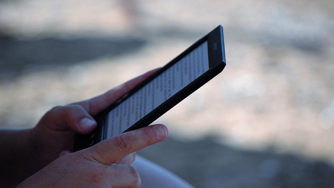 eReader o tablet portada