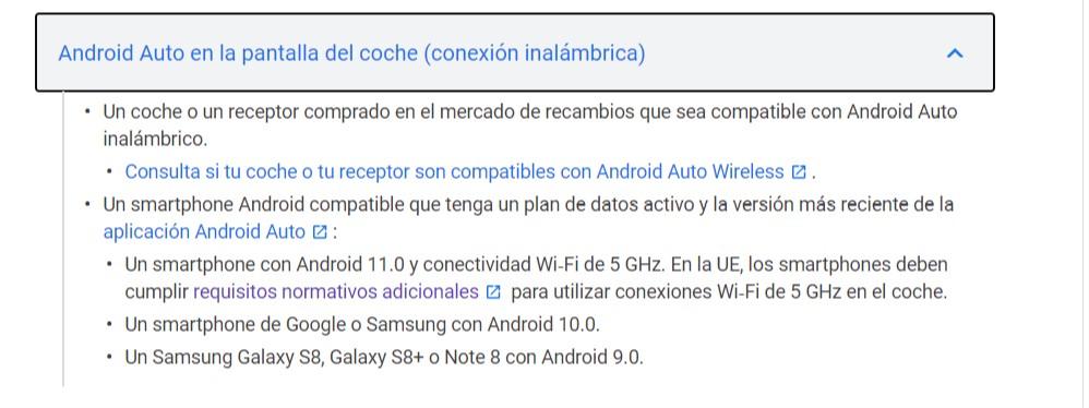 Android Auto para todos... o casi todos
