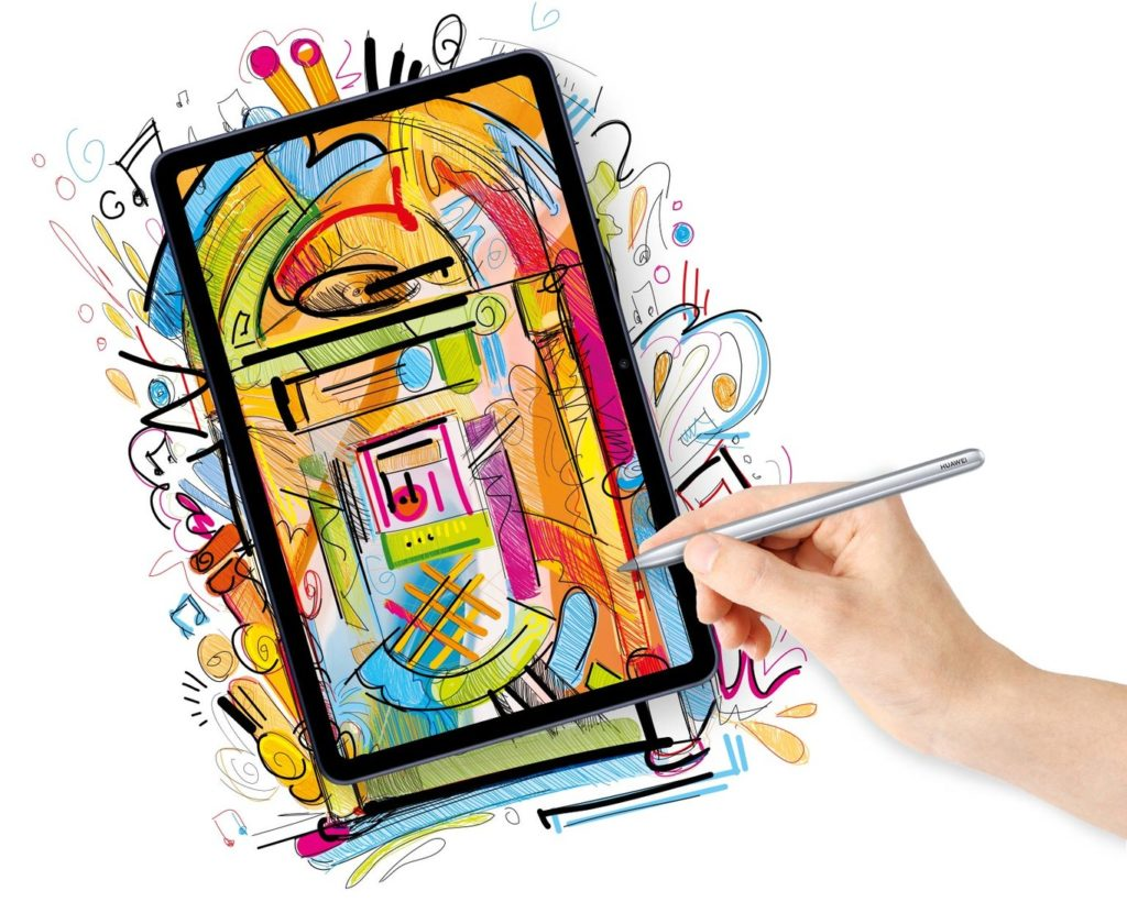 El M Pencil también acompaña a la HUAWEI MatePad 10.4