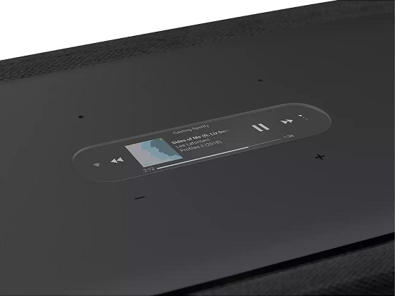Harman Kardon Citation 500, pantalla
