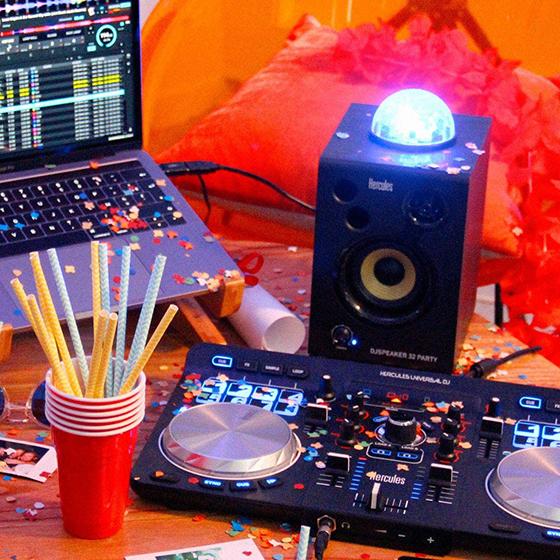 Hercules DJSpeaker 32 Party - Conectividad