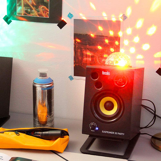Hercules DJSpeaker 32 Party - Iluminación LED