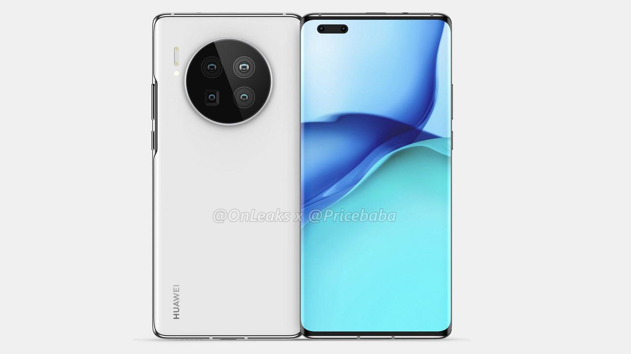 Diseno del Huawei Mate 40
