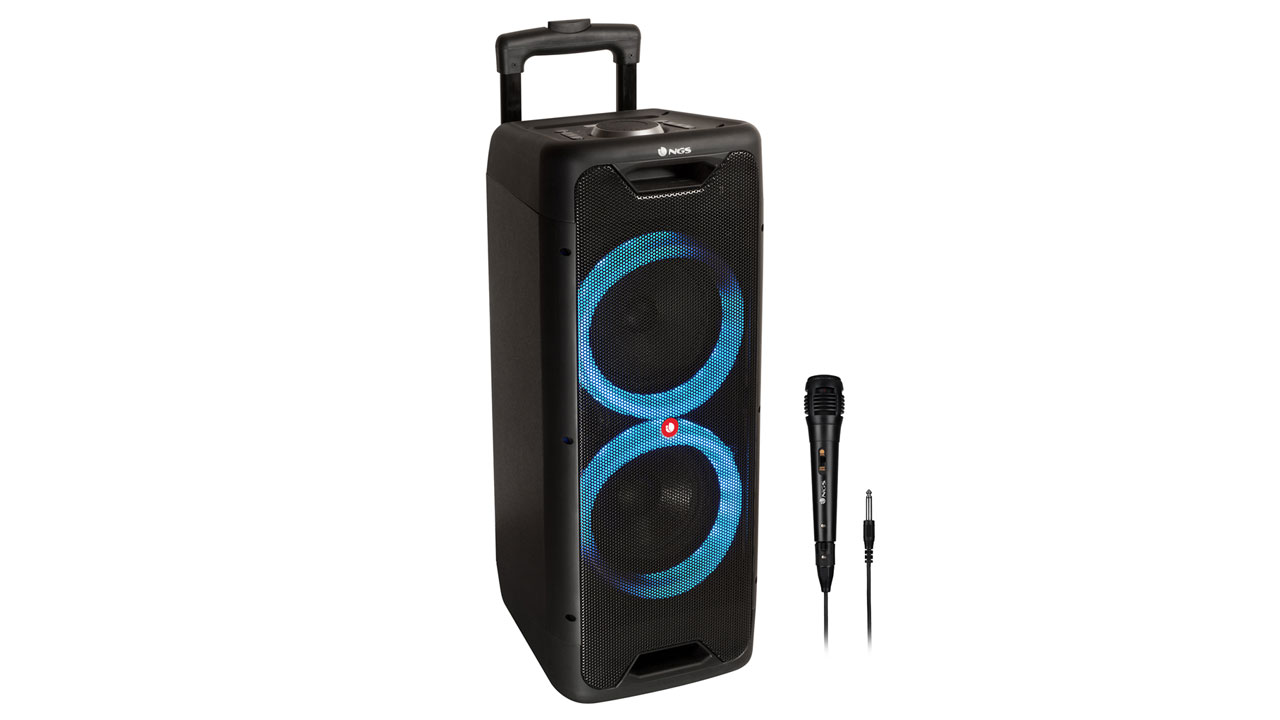 NGS Wild Jungle 2, un altavoz Bluetooth muy potente, pero no muy costoso