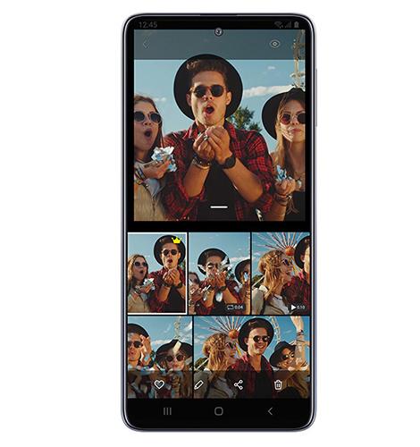 Samsung Galaxy M31s - Cámaras