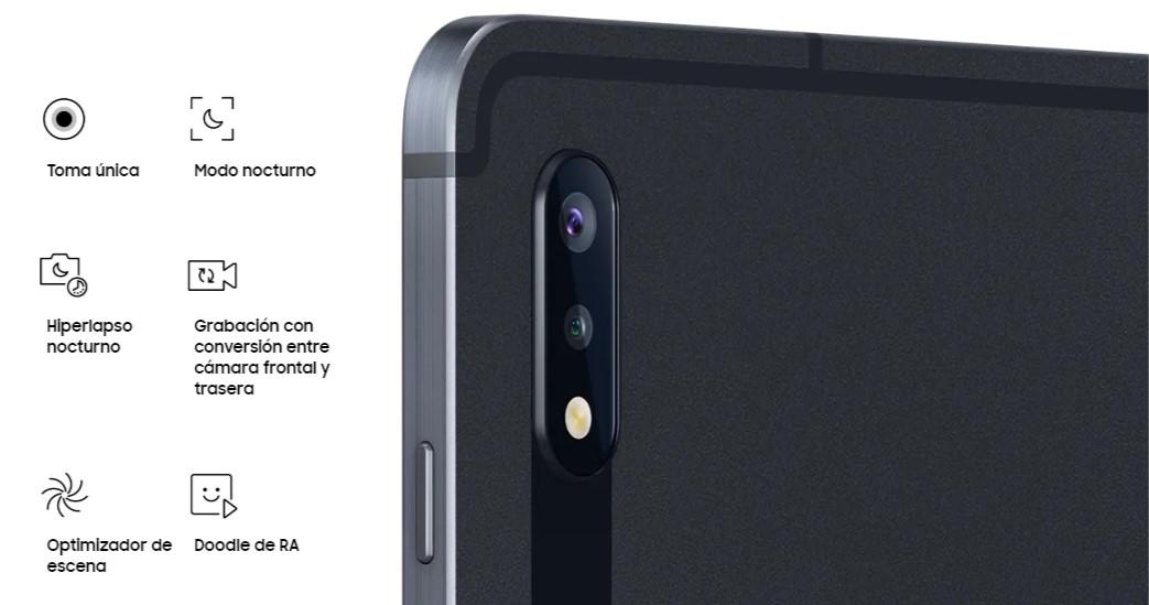 Samsung Galaxy Tab S7 - Cámaras