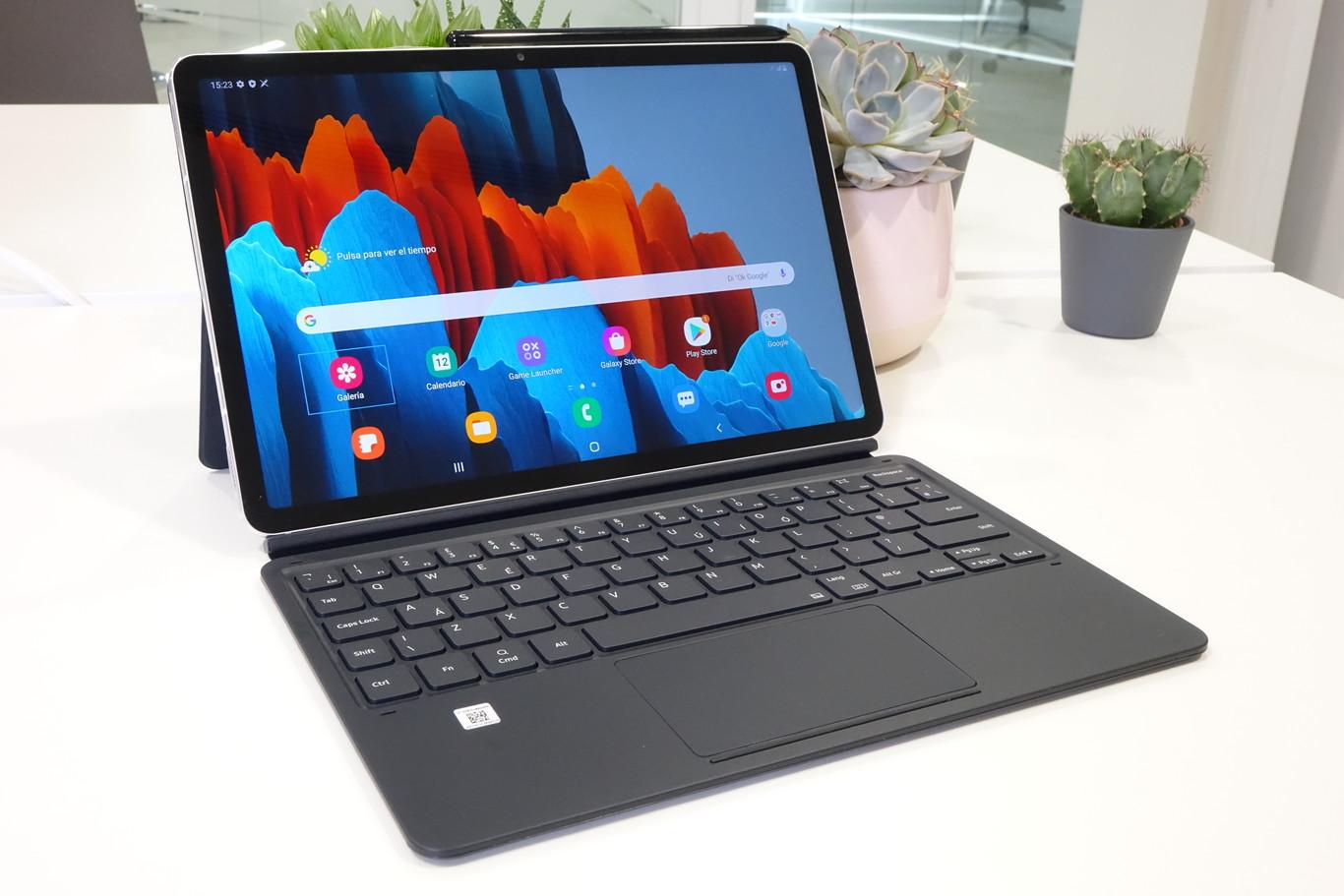 Samsung Galaxy Tab S7 - Funda con teclado