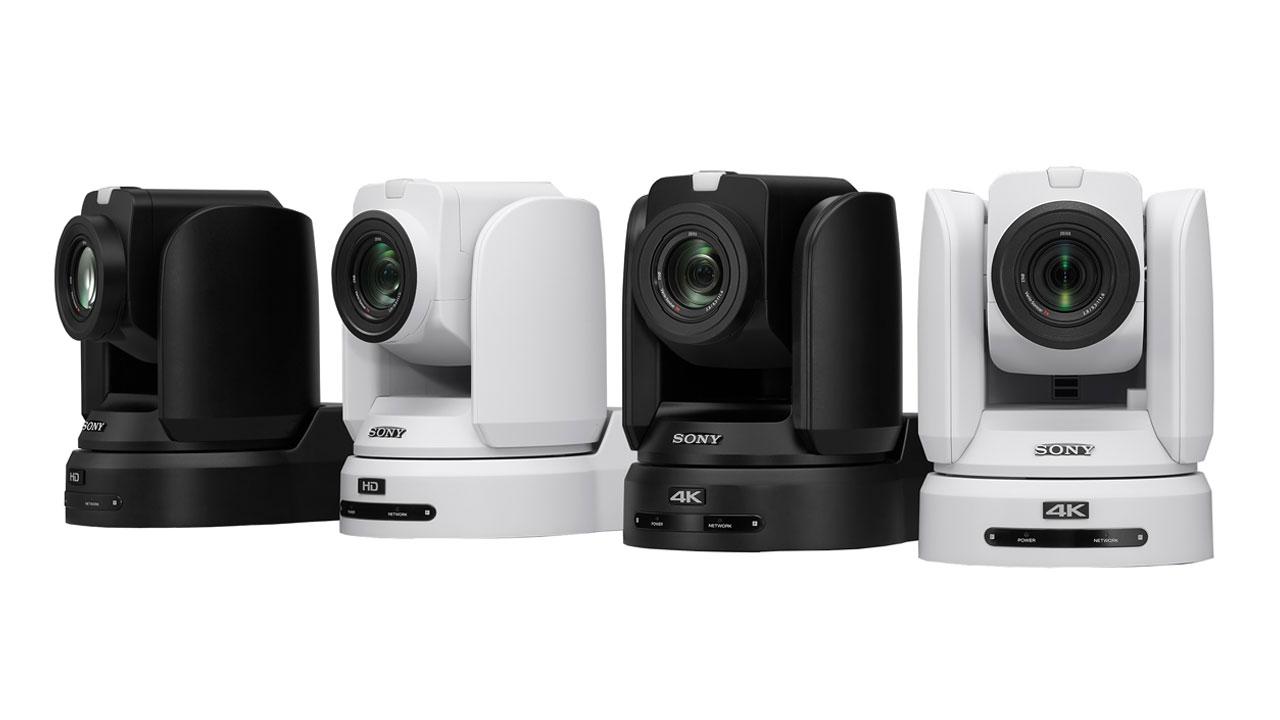 Sony actualiza su gama de cámaras BRC con nuevas funciones
