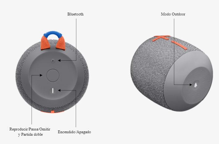 Ultimate Ears Wonderboom 2 - Botones