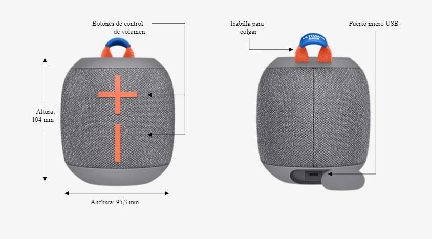 Ultimate Ears Wonderboom 2 - Diseño