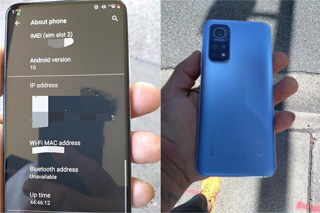 Xiaomi Mi 10T Pro - Fotos espía