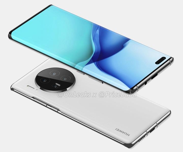diseno del Huawei Mate 40 Pro