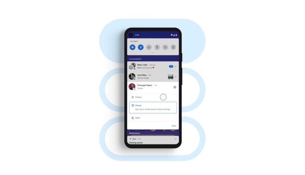 Android 11 - Comunícate mejor con tus contactos