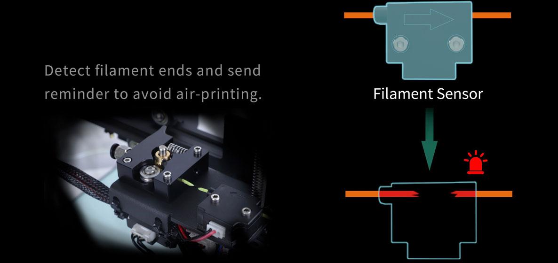Anet ET4 Pro - Sensor de filamento