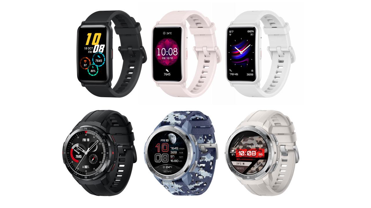 Honor Watch ES y Watch GS Pro, los nuevos smartwatches deportivos de Honor