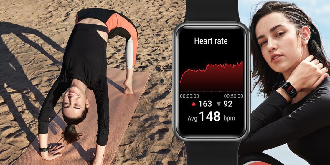 Huawei Watch Fit - Monitor frecuencia cardíaca