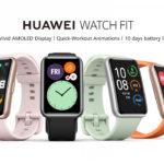 Huawei Watch Fit, Smartwatch de nueva generación con esfera rectangular