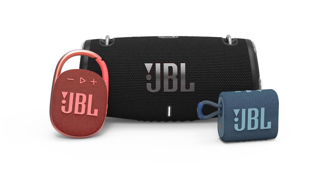 JBL Xtreme 3, Go 3 y Clip 4