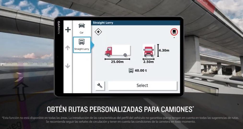 Rutas personalizadas
