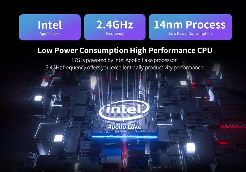 Teclast F7S - CPU