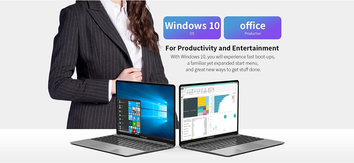 Teclast F7S - Windows 10