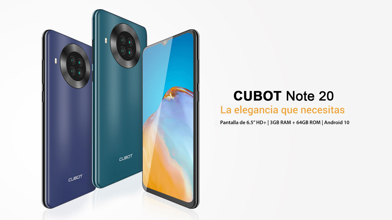 Cubot Note 20 - Destacada