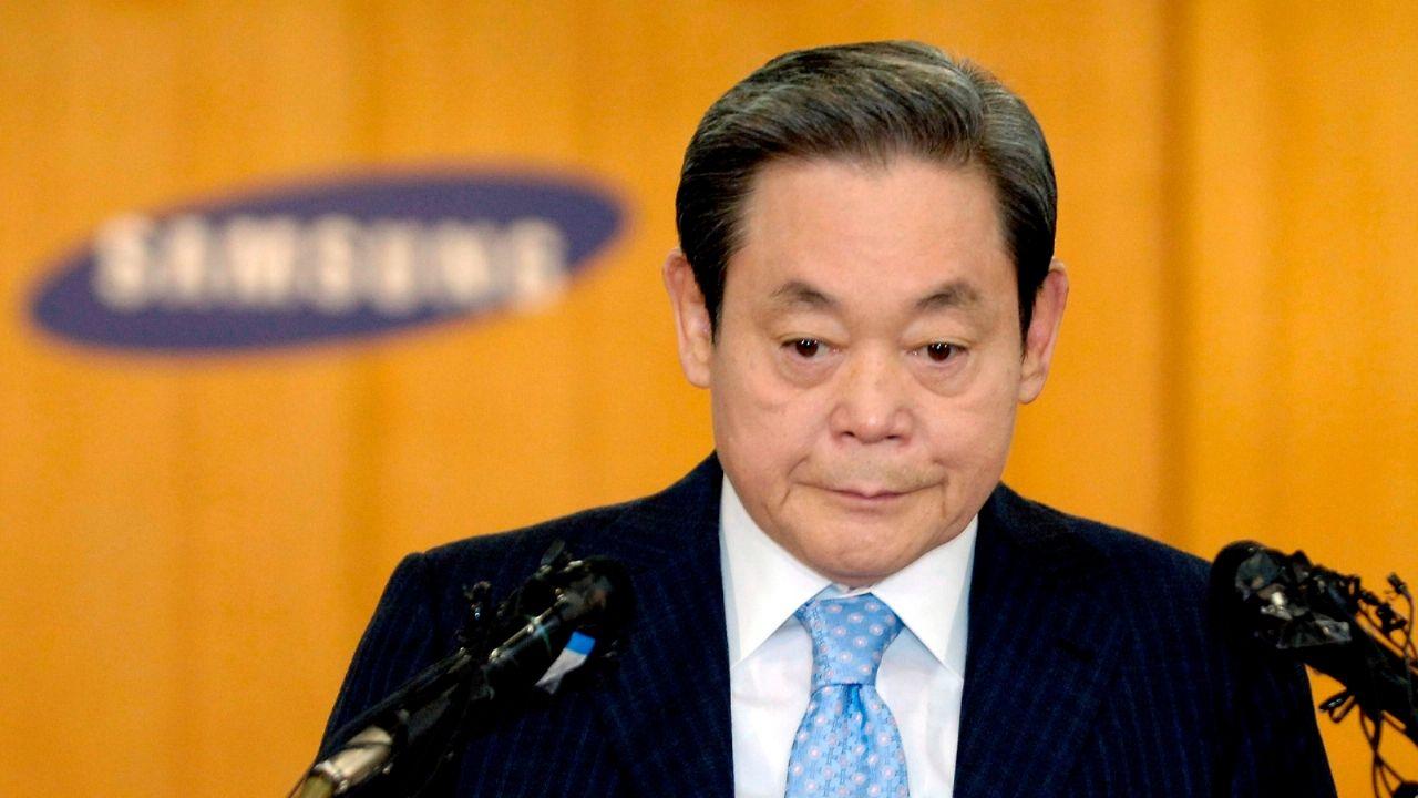 El presidente de Samsung,Lee Kun-hee