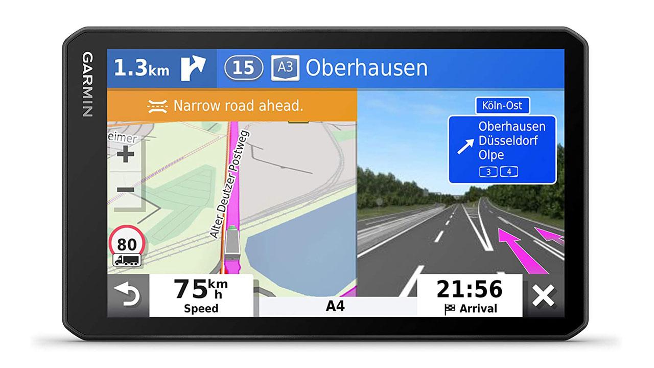 Garmin Dēzl LGV700 MT-D, el GPS ideal para tu camión
