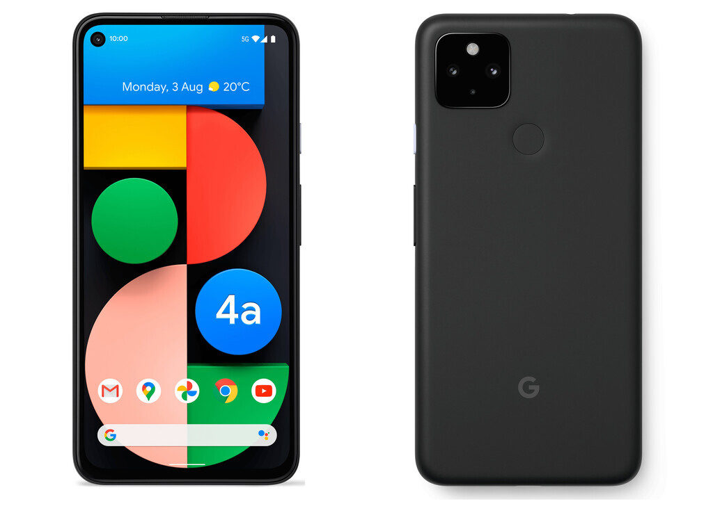 Google Pixel 4a 5G, un diseño familiar