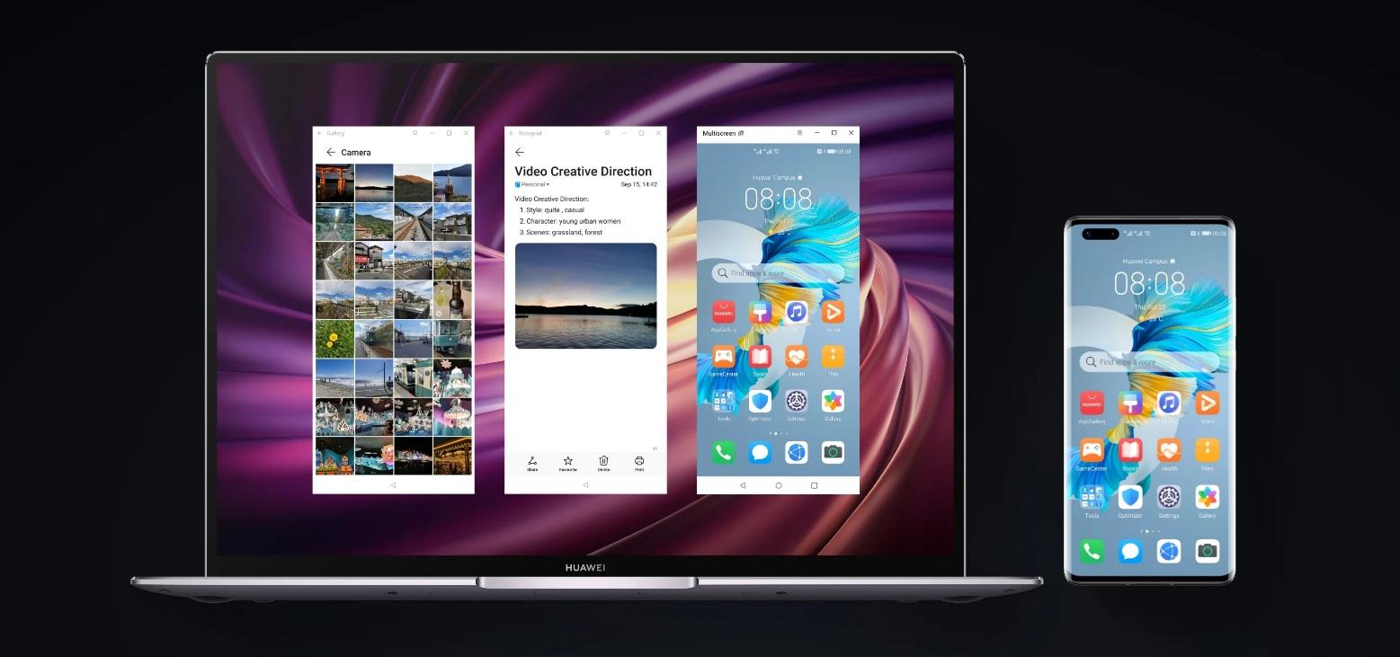 Huawei Mate 40 Pro+ - Multitasking