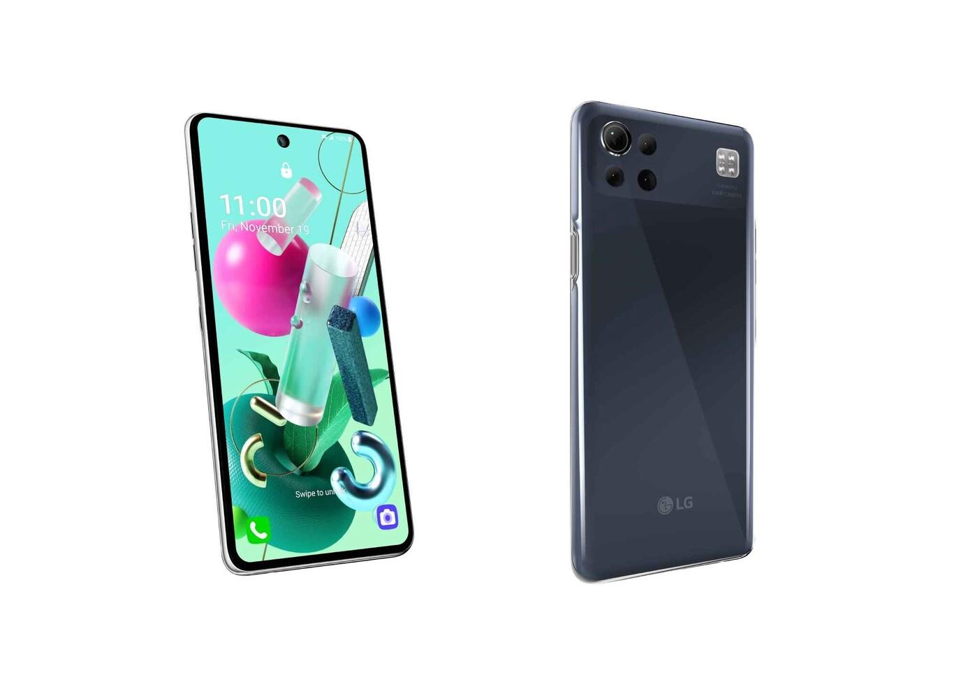 LG K92 5G - Diseño