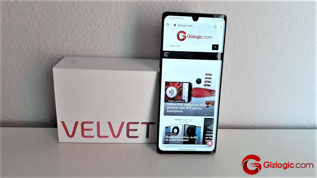LG Velvet 5G, probamos este smartphone de pantalla panorámica OLED