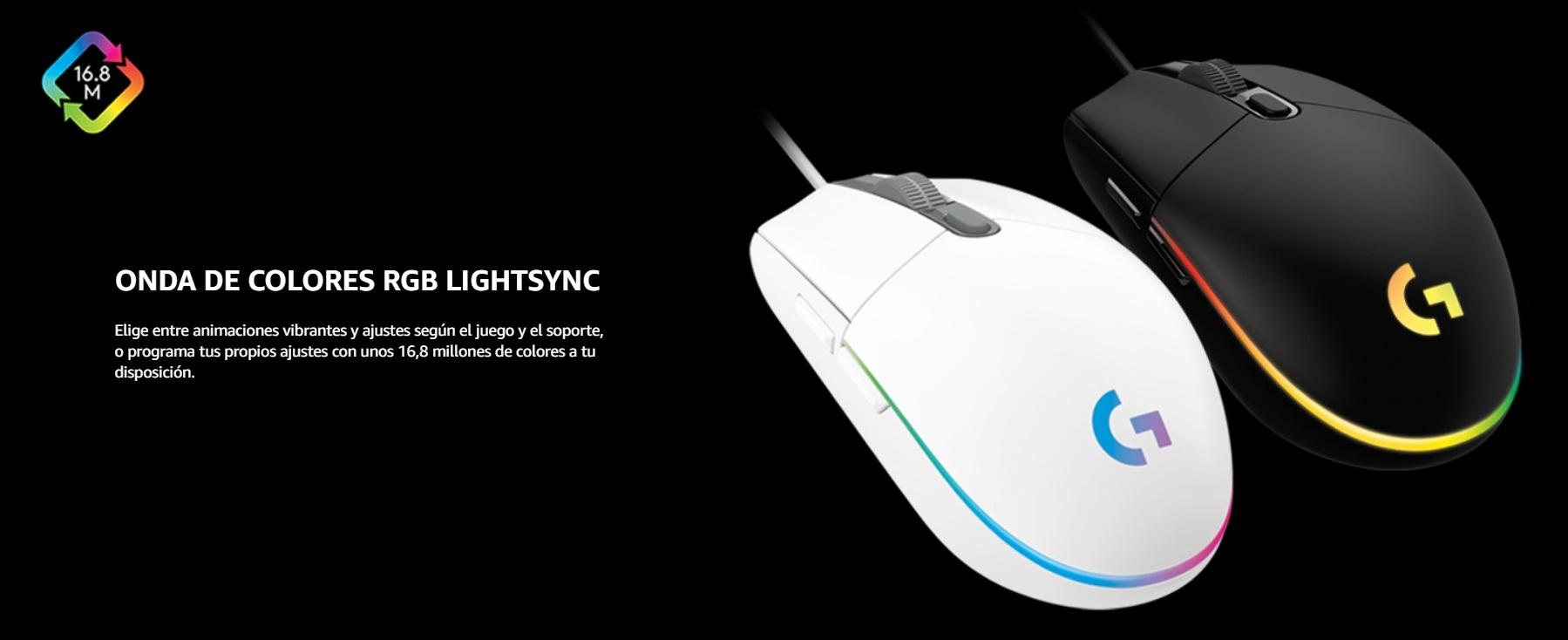 Logitech G203 - RGB Lightsync