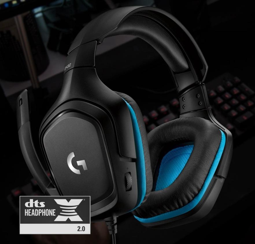 Logitech G432 - DTS Headphone X 2.0