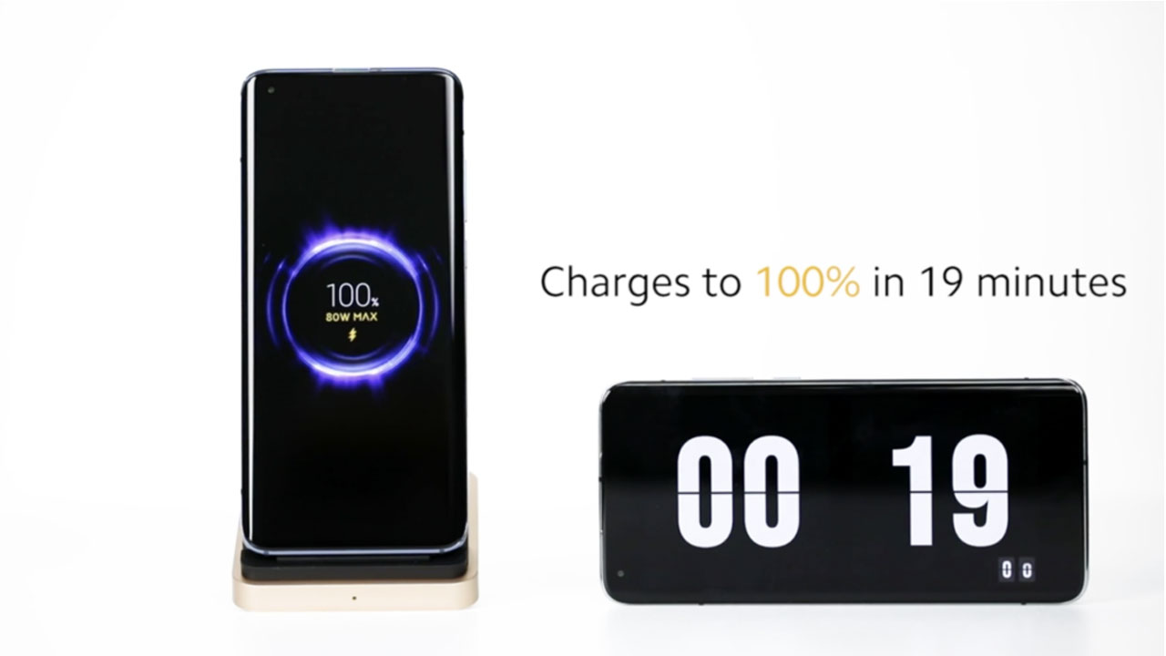 Mi Wireless Charging, Xiaomi presenta su carga inalámbrica de 80W